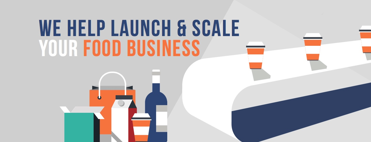 We help launch and scale your food business