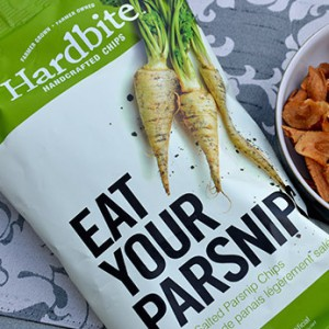 Eat your parsnips-New On-Shelf Design Packaging Cue