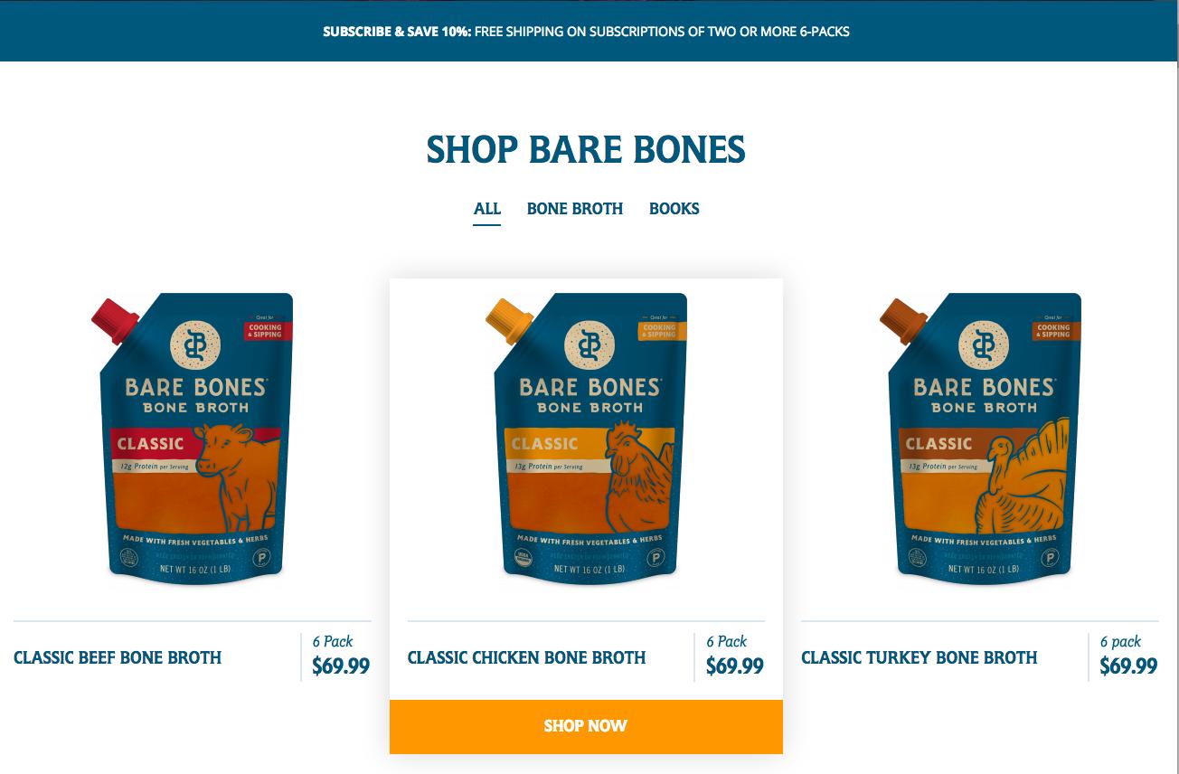 Shop Bare Bones